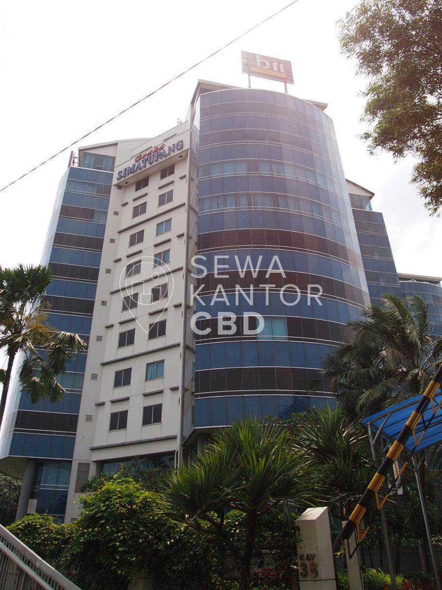Sewa Kantor Gedung Graha Simatupang Jakarta Selatan Pasar Minggu TB Simatupang Jakarta Exterior