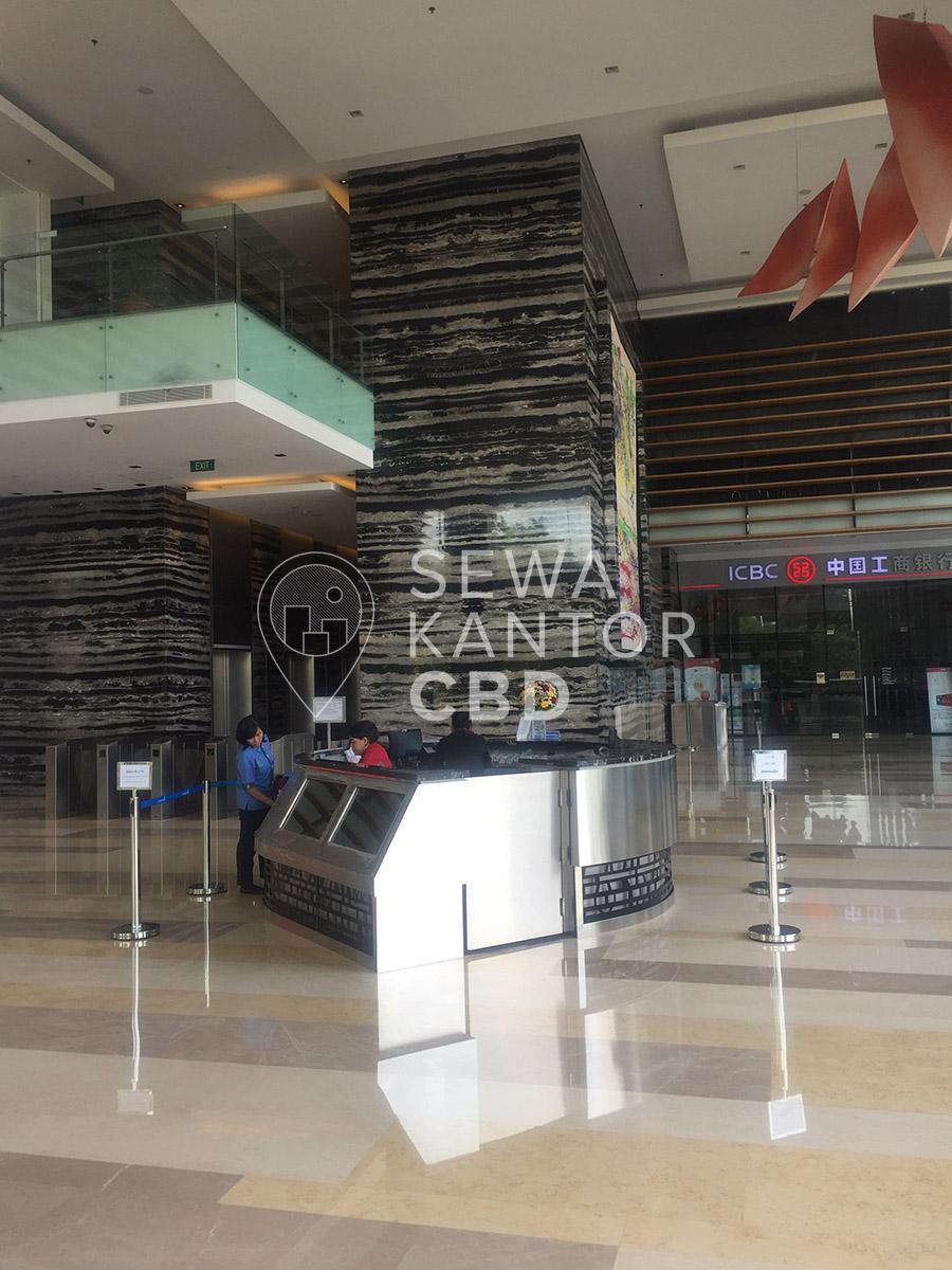 Sewa Kantor Gedung Gandaria 8 Office Tower Jakarta Selatan Kebayoran Lama  Jakarta Interior