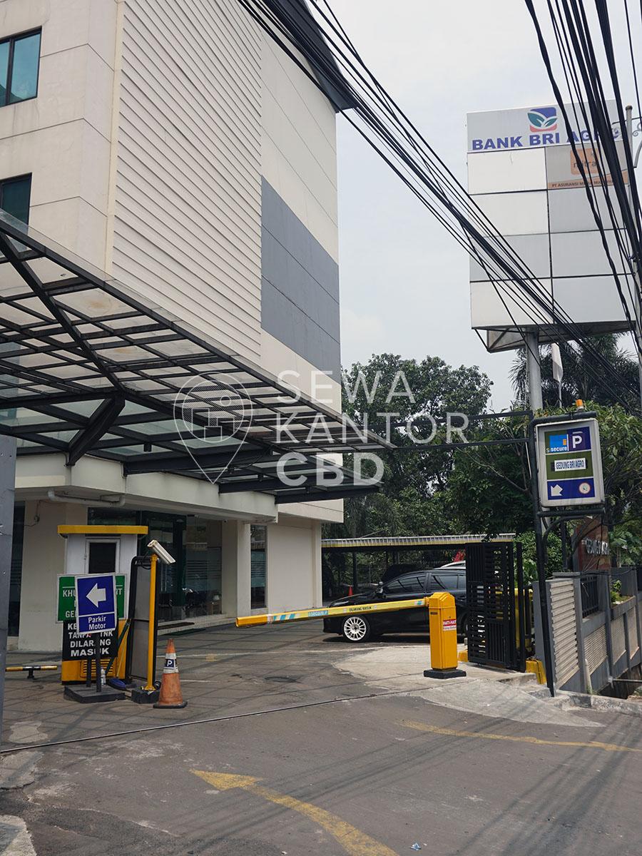 Sewa Kantor Gedung Gedung BRI Agro Jakarta Selatan Pancoran  Jakarta Exterior 1
