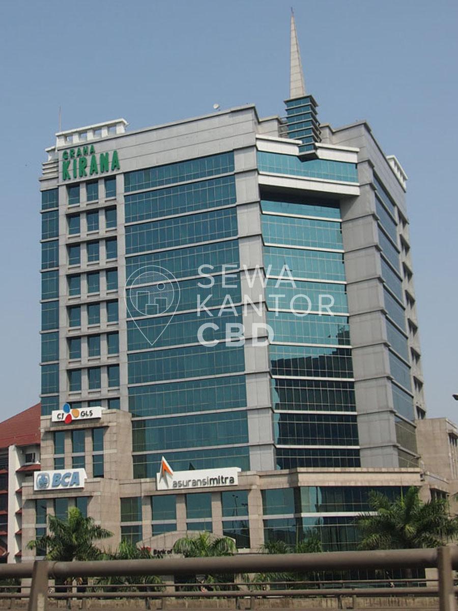 Sewa Kantor Gedung Graha Kirana Jakarta Utara Tanjung Priok  Jakarta Exterior 4