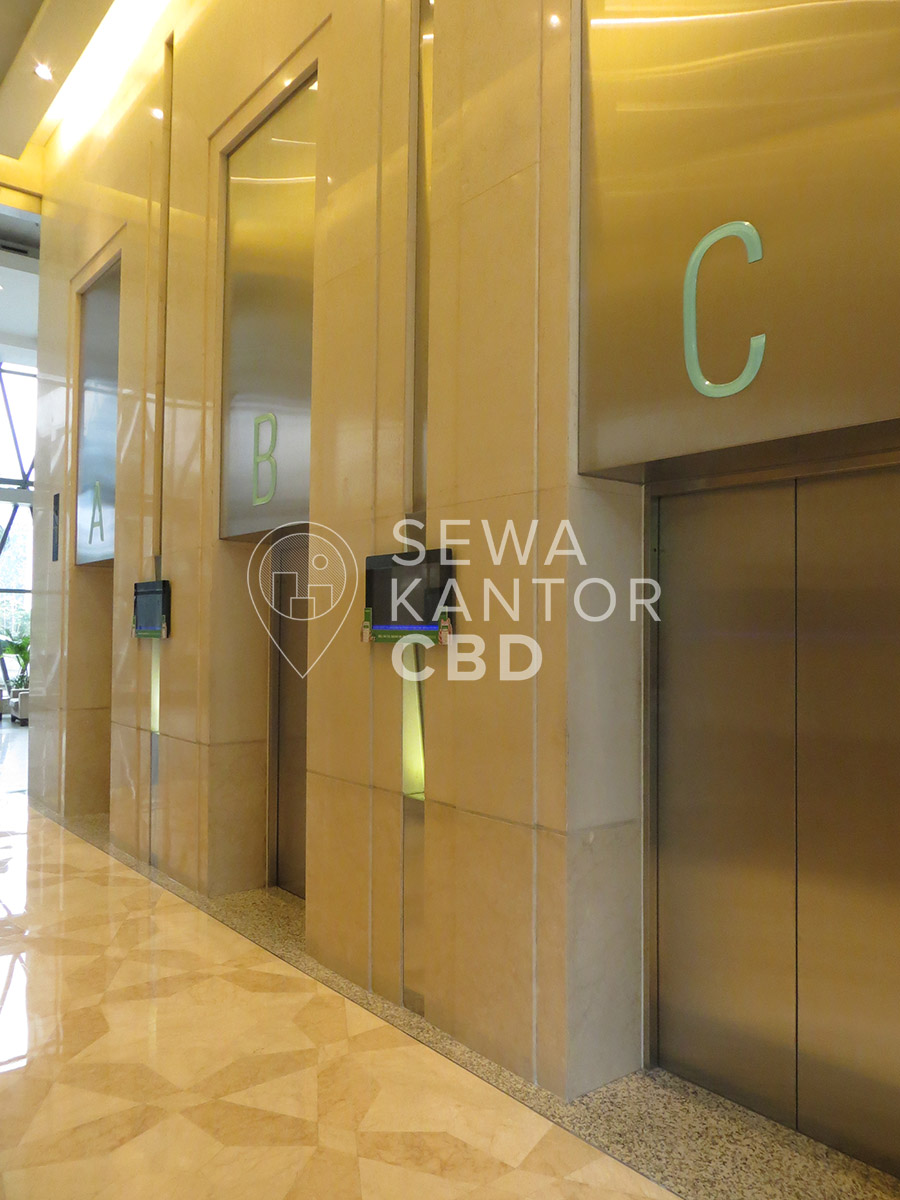 Sewa Kantor Gedung Bakrie Tower Jakarta Selatan Setiabudi Kuningan Jakarta Interior 2