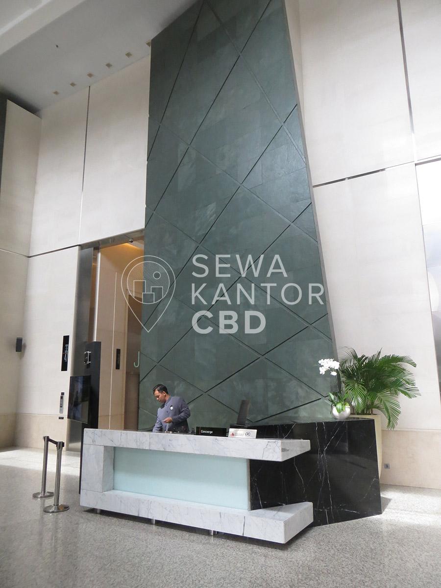 Sewa Kantor Gedung Bakrie Tower Jakarta Selatan Setiabudi Kuningan Jakarta Interior 1