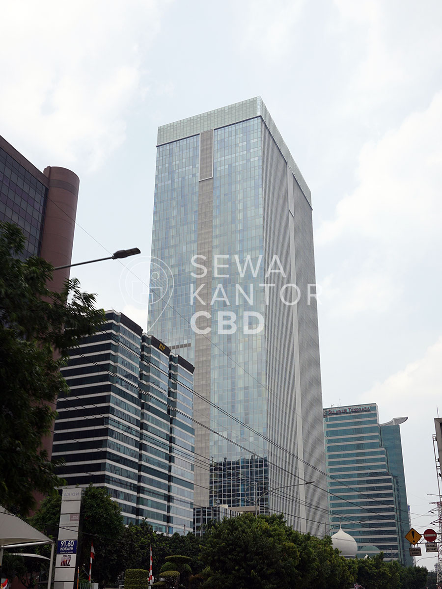 Sewa Kantor Gedung Centennial Tower Jakarta Selatan Setiabudi Gatot Subroto Jakarta Exterior 1