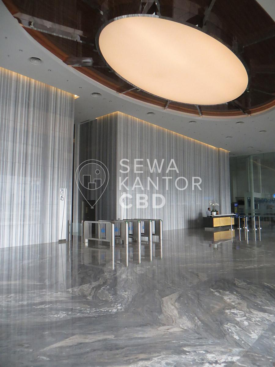 Sewa Kantor Gedung Centennial Tower Jakarta Selatan Setiabudi Gatot Subroto Jakarta Interior