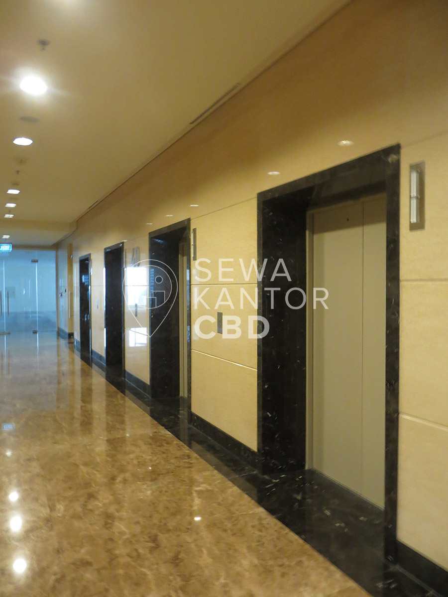 Sewa Kantor Gedung Centennial Tower Jakarta Selatan Setiabudi Gatot Subroto Jakarta Interior 5