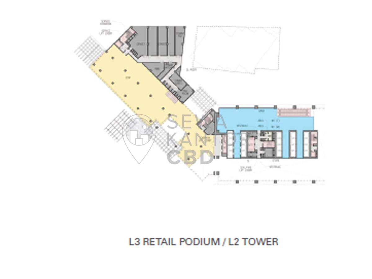 Sewa kantor world trade center 3 jakarta selatan for Trademark quality homes floor plans