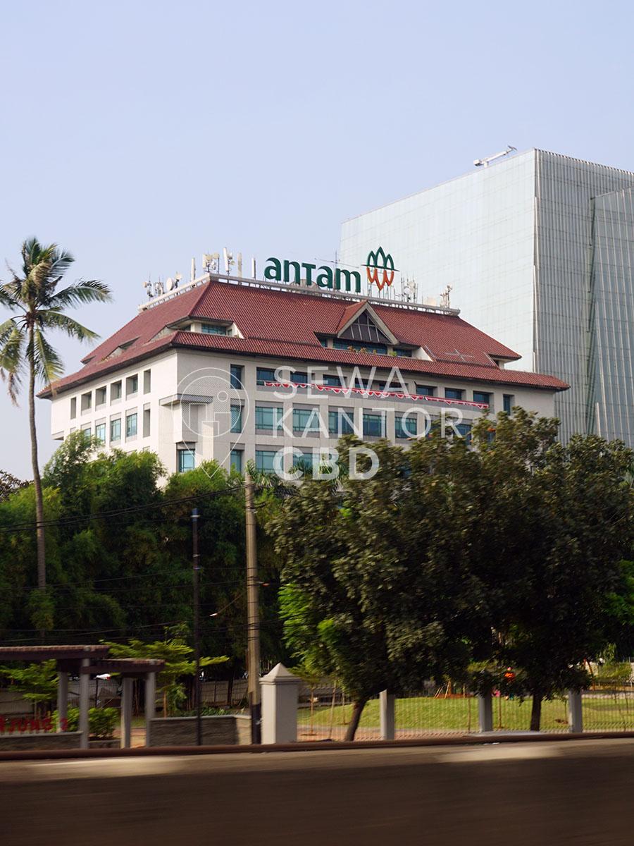 Sewa Kantor Gedung Antam Tower A Jakarta Selatan Jagakarsa TB Simatupang Jakarta Exterior