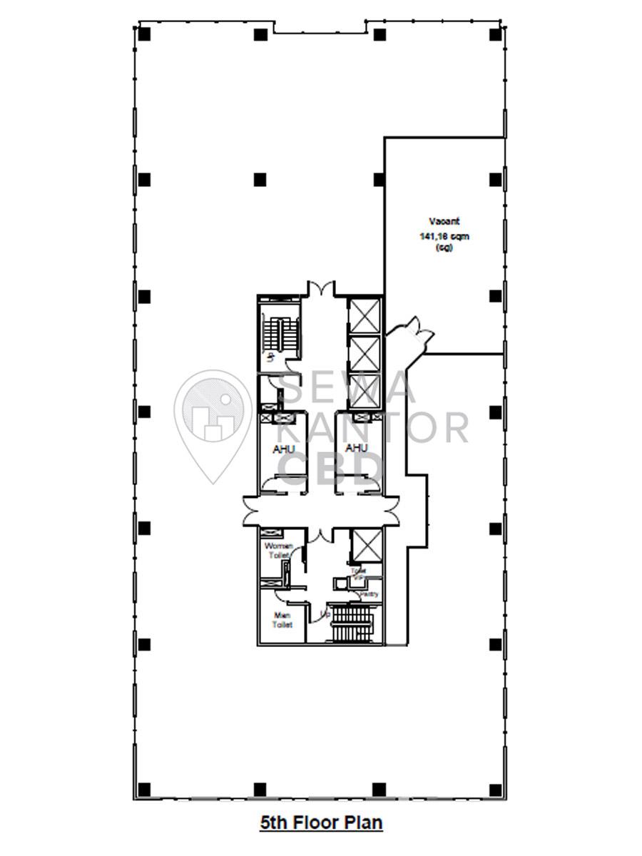 Sewa Kantor Gedung Gedung Wirausaha Jakarta Selatan Setiabudi Kuningan Jakarta Floor Plan