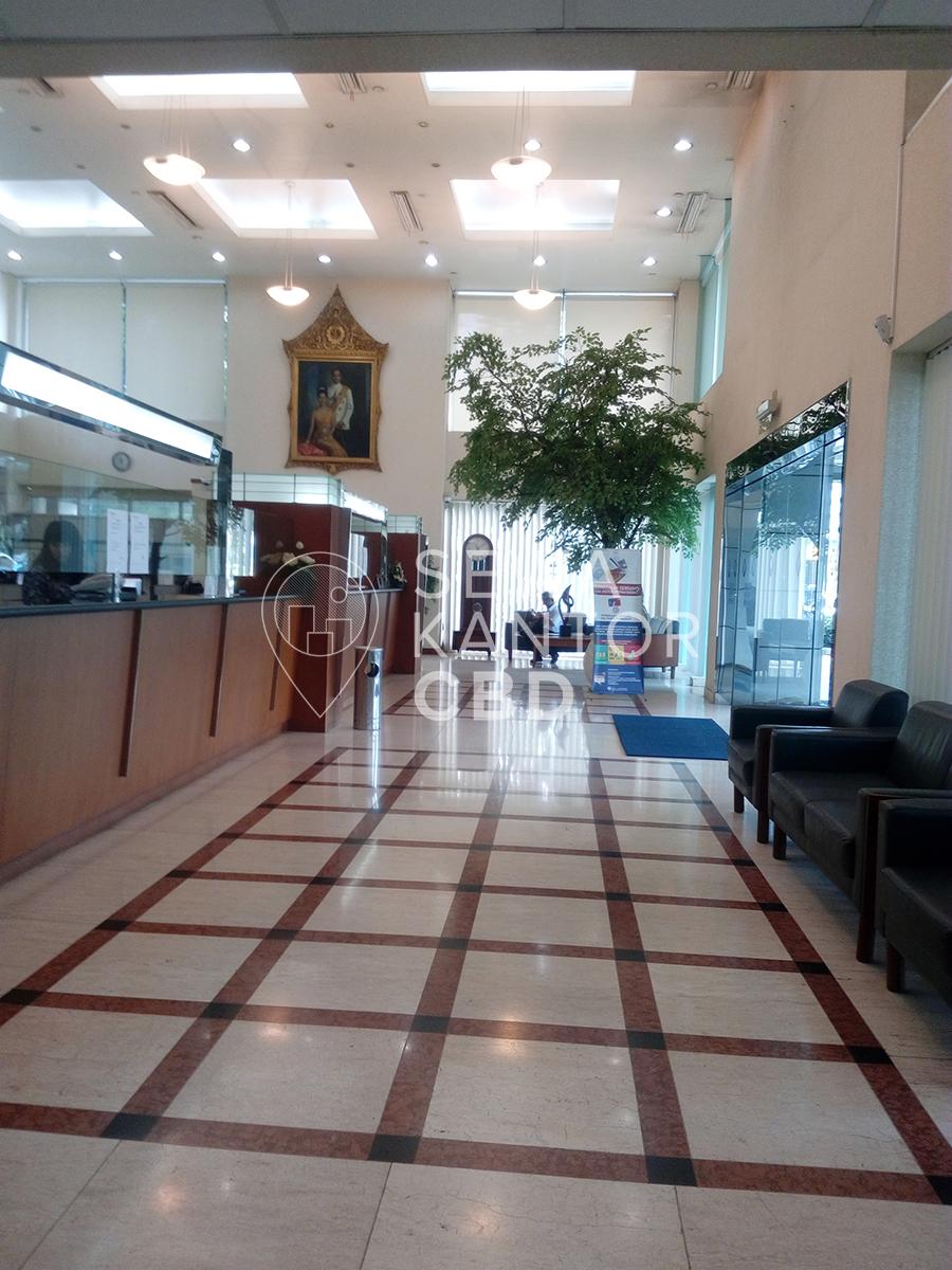 Sewa Kantor Gedung Bangkok Bank Jakarta Pusat Menteng Thamrin Jakarta Interior