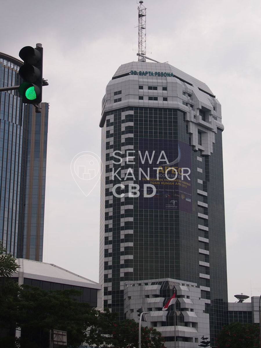 Sewa Kantor Gedung Gedung Sapta Pesona Jakarta Pusat Gambir Thamrin Jakarta Exterior 1