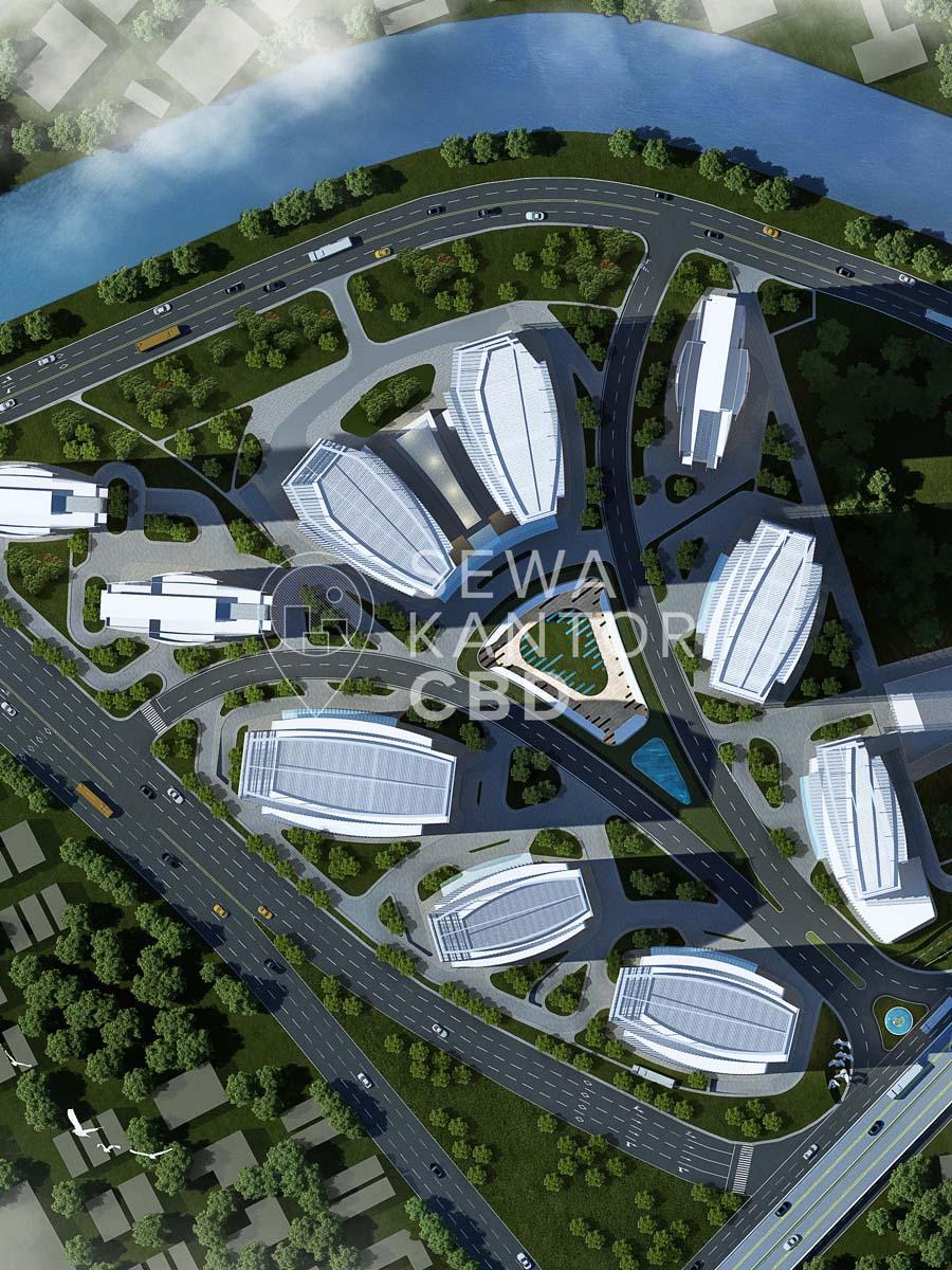Sewa Kantor Gedung Ciputra International Puri 3 Phase 1 Jakarta Barat Cengkareng  Jakarta Exterior 1