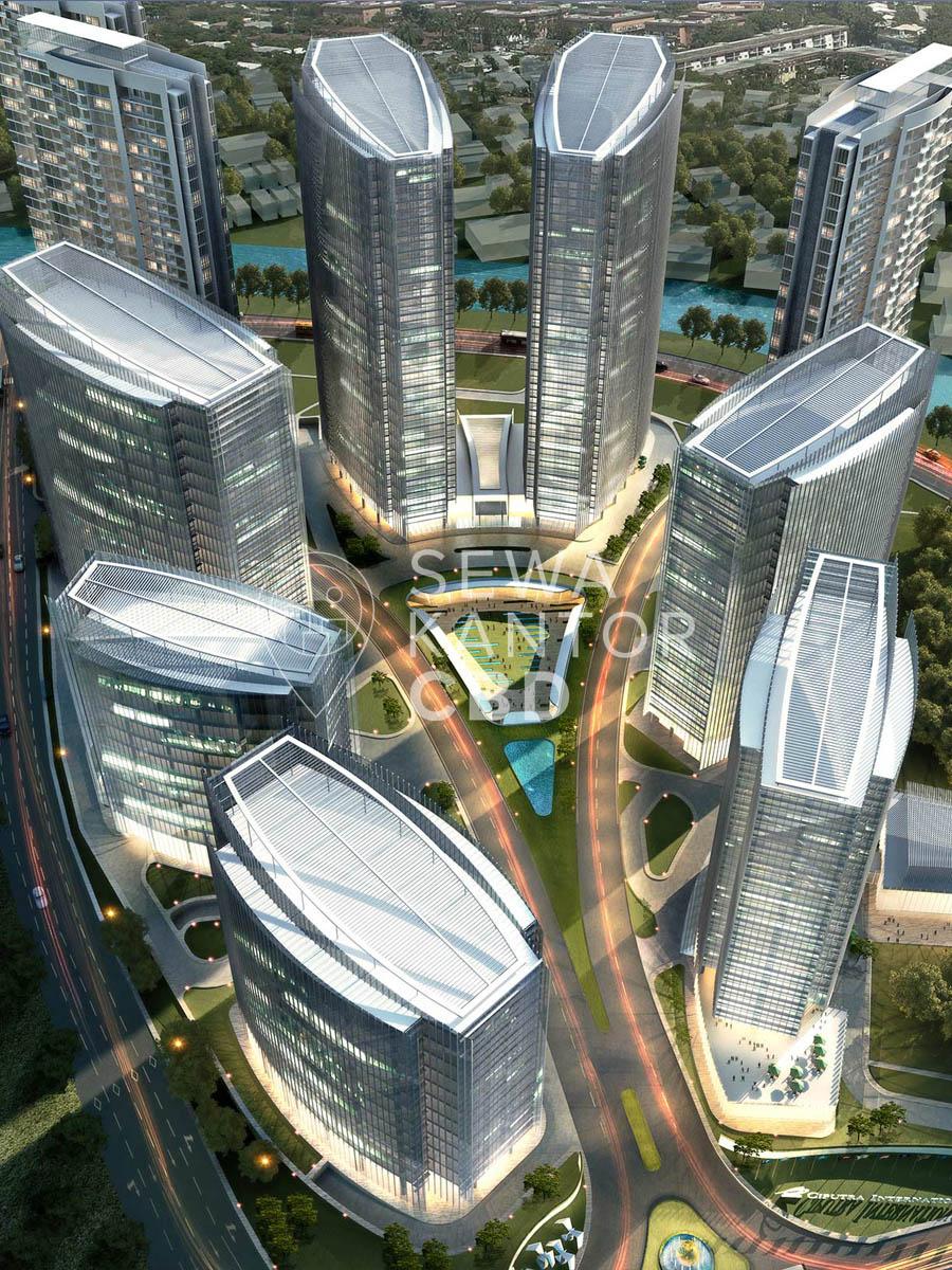 Sewa Kantor Gedung Ciputra International Puri 3 Phase 1 Jakarta Barat Cengkareng  Jakarta Exterior