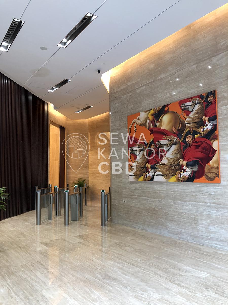 Sewa Kantor Gedung Lippo St Moritz Office Tower Jakarta Barat Kembangan  Jakarta Interior 18