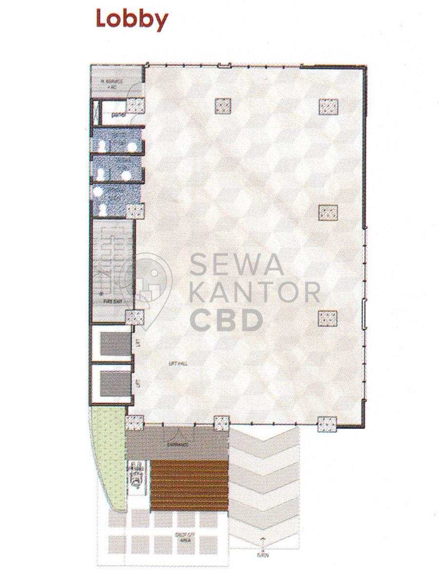 Sewa Kantor Gedung Graha MIR Jakarta Timur Pulo Gadung  Jakarta Floor Plans 1