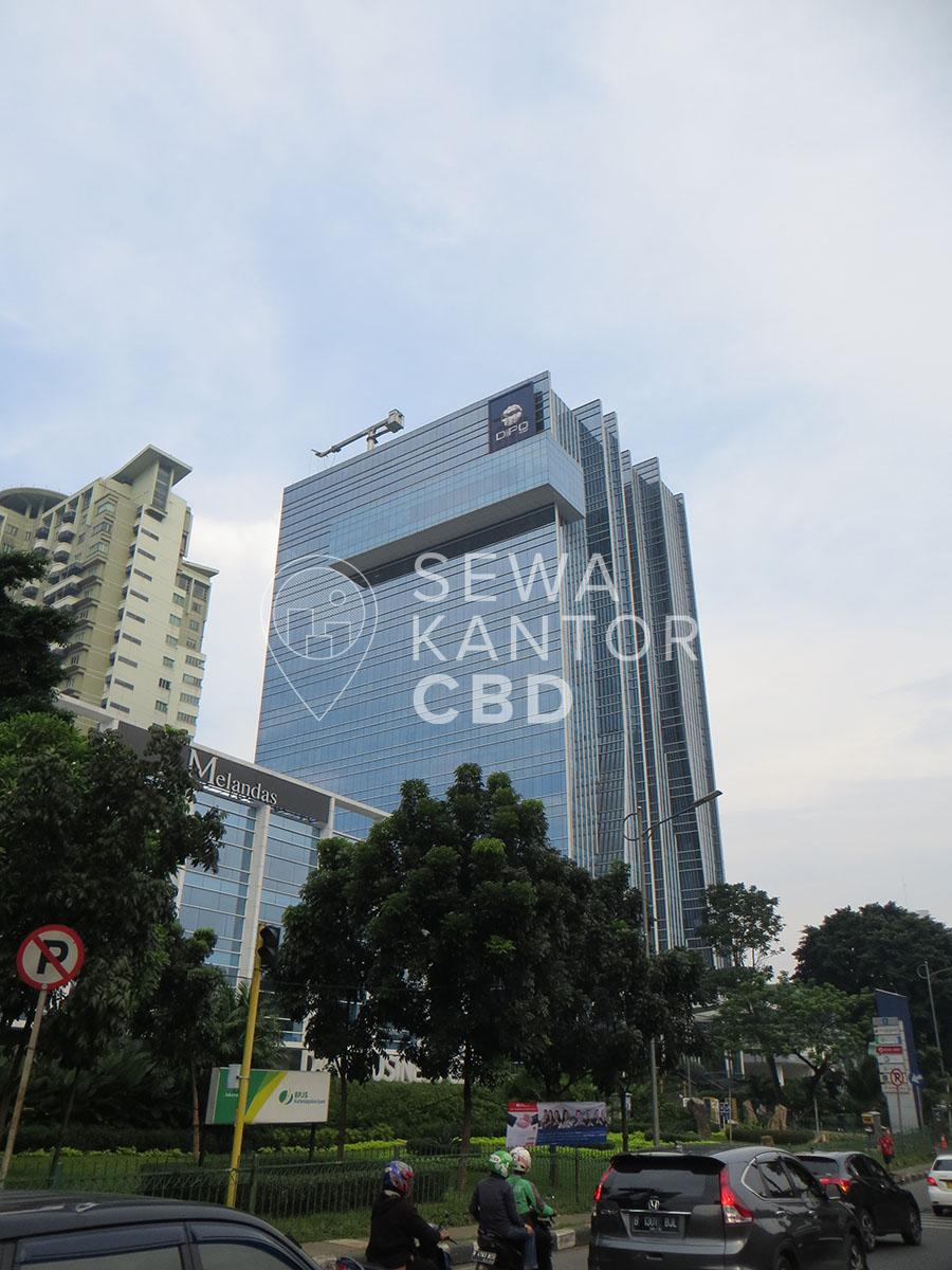 Sewa Kantor Gedung Dipo Tower Jakarta Pusat Tanah Abang  Jakarta Exterior 2