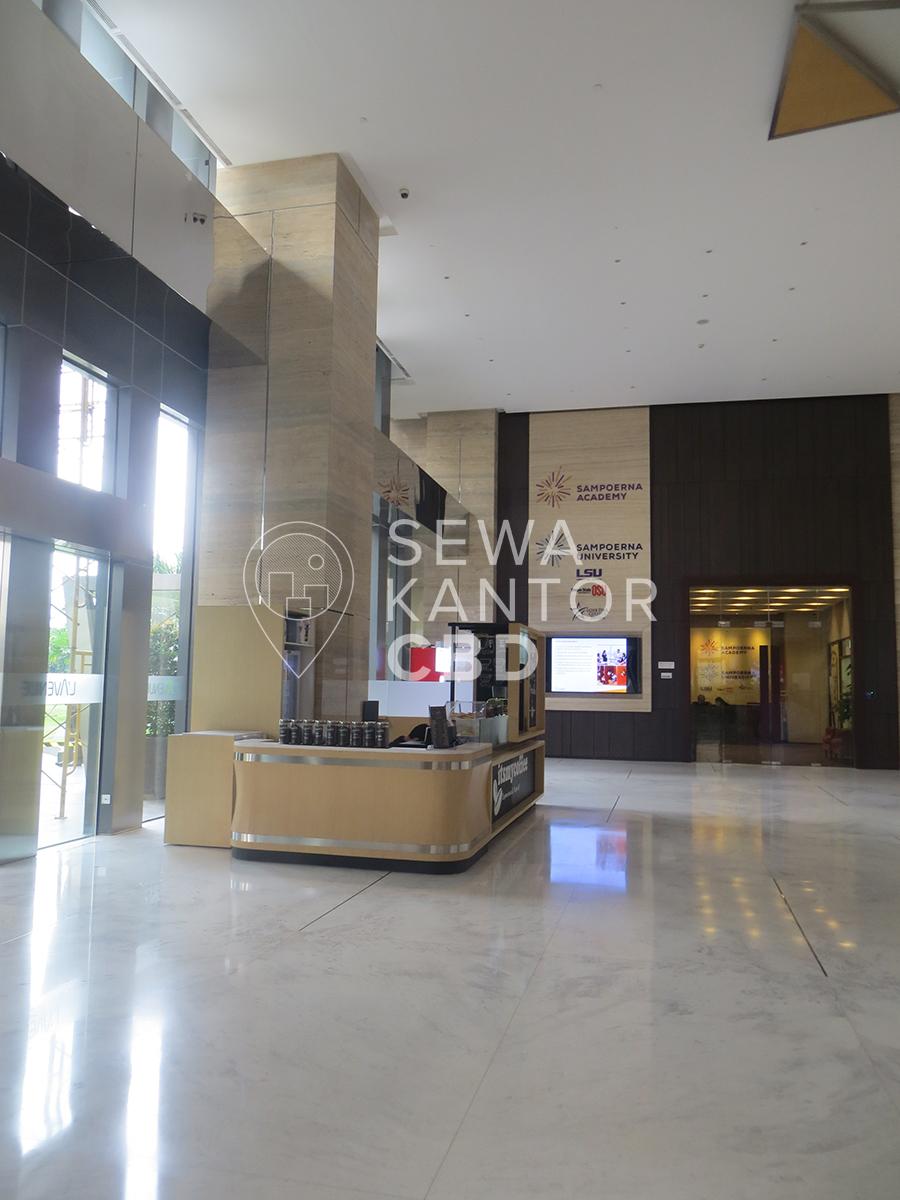 Sewa Kantor Gedung L' Avenue office Jakarta Selatan Pancoran  Jakarta Interior 3