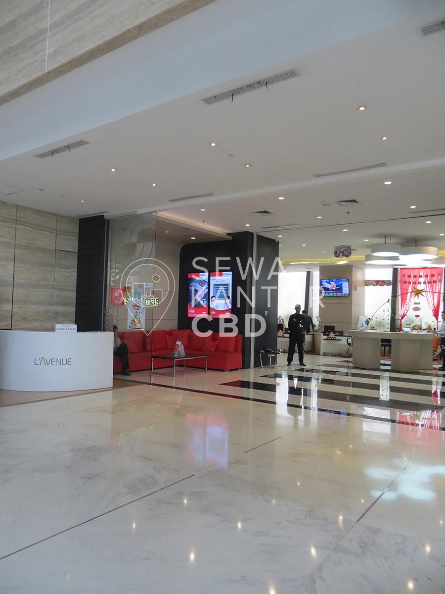 Sewa Kantor Gedung L' Avenue office Jakarta Selatan Pancoran  Jakarta Interior 2