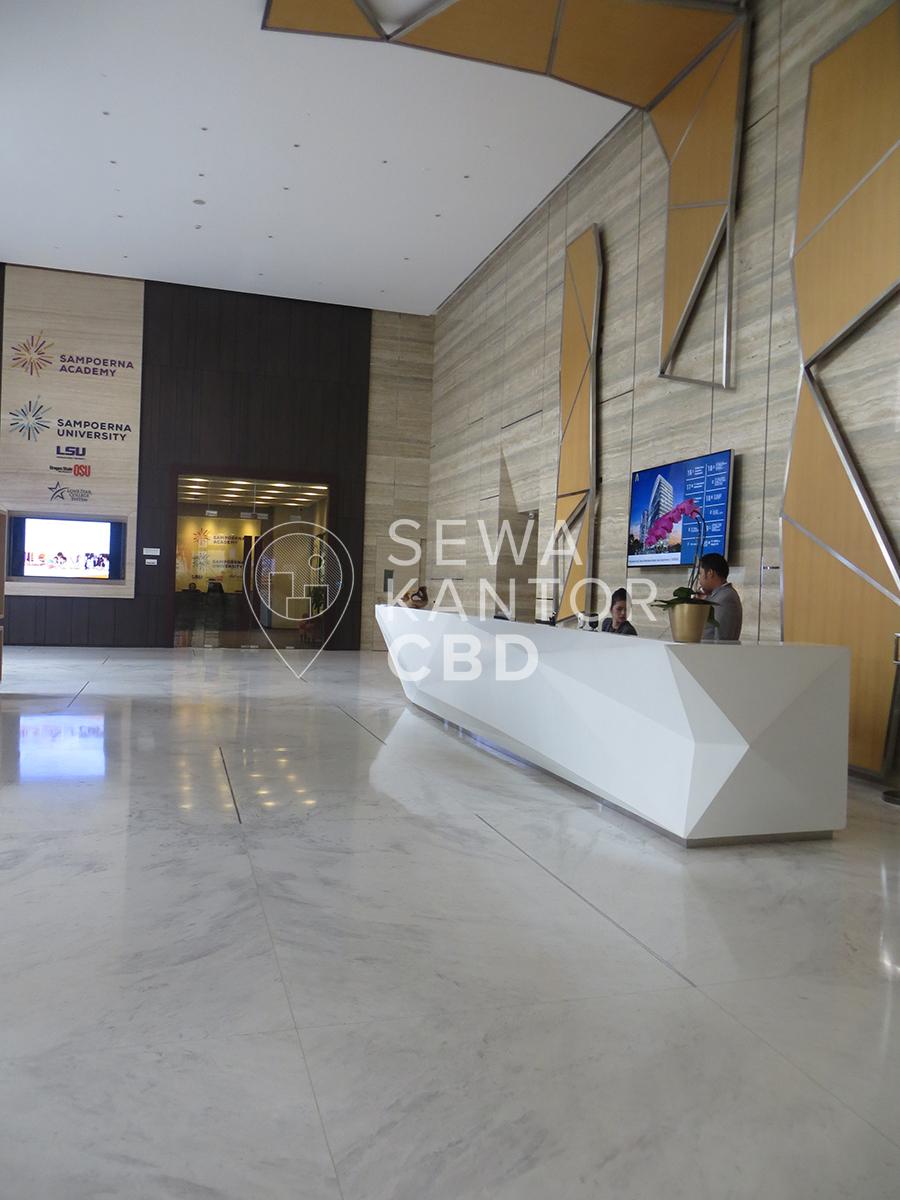 Sewa Kantor Gedung L' Avenue office Jakarta Selatan Pancoran  Jakarta Interior