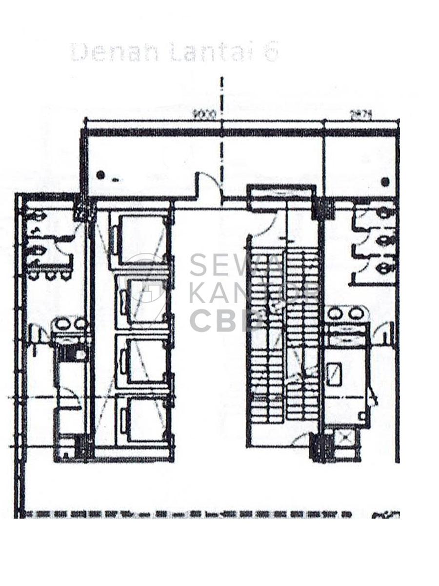 Sewa Kantor Gedung Graha Lestari Jakarta Pusat Gambir  Jakarta Floor Plan