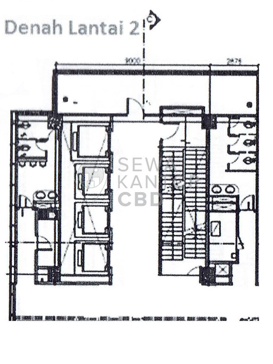 Sewa Kantor Gedung Graha Lestari Jakarta Pusat Gambir  Jakarta Floor Plans 1
