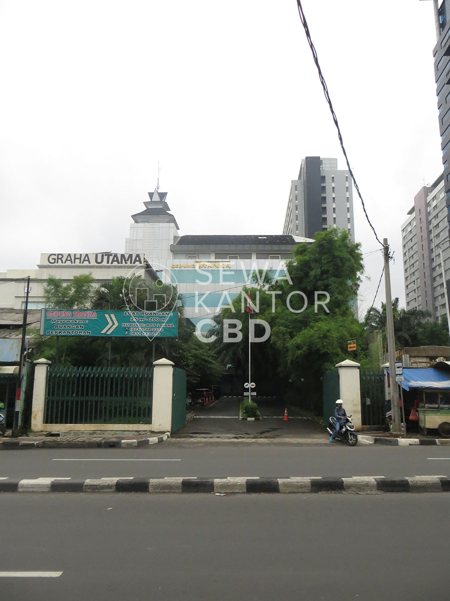 Sewa Kantor Gedung Graha Utama Jakarta Selatan Pancoran  Jakarta Exterior