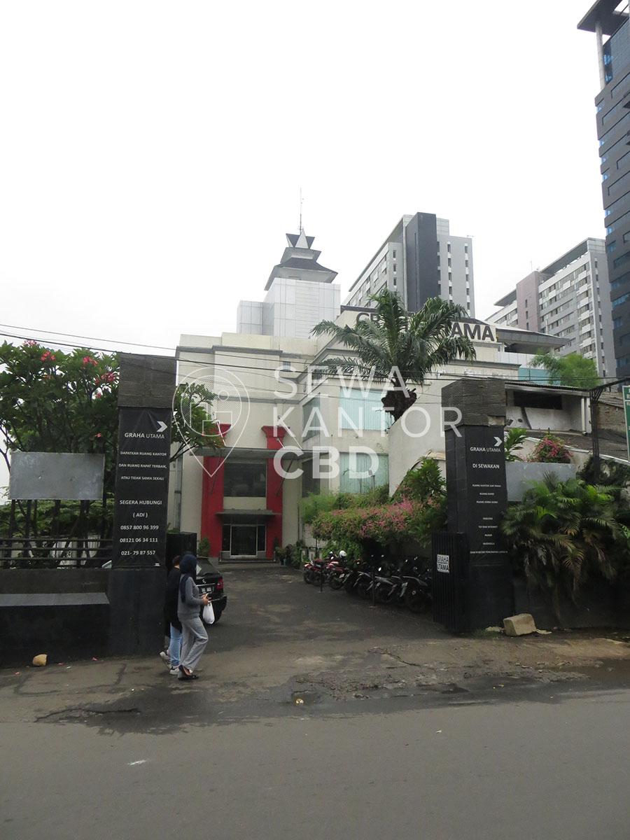 Sewa Kantor Gedung Graha Utama Jakarta Selatan Pancoran  Jakarta Exterior 4