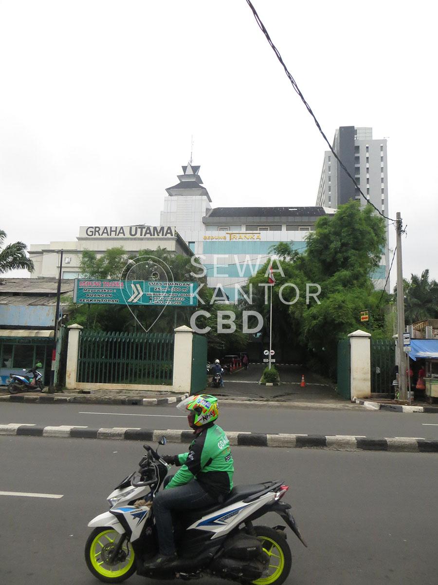 Sewa Kantor Gedung Graha Utama Jakarta Selatan Pancoran  Jakarta Exterior 1