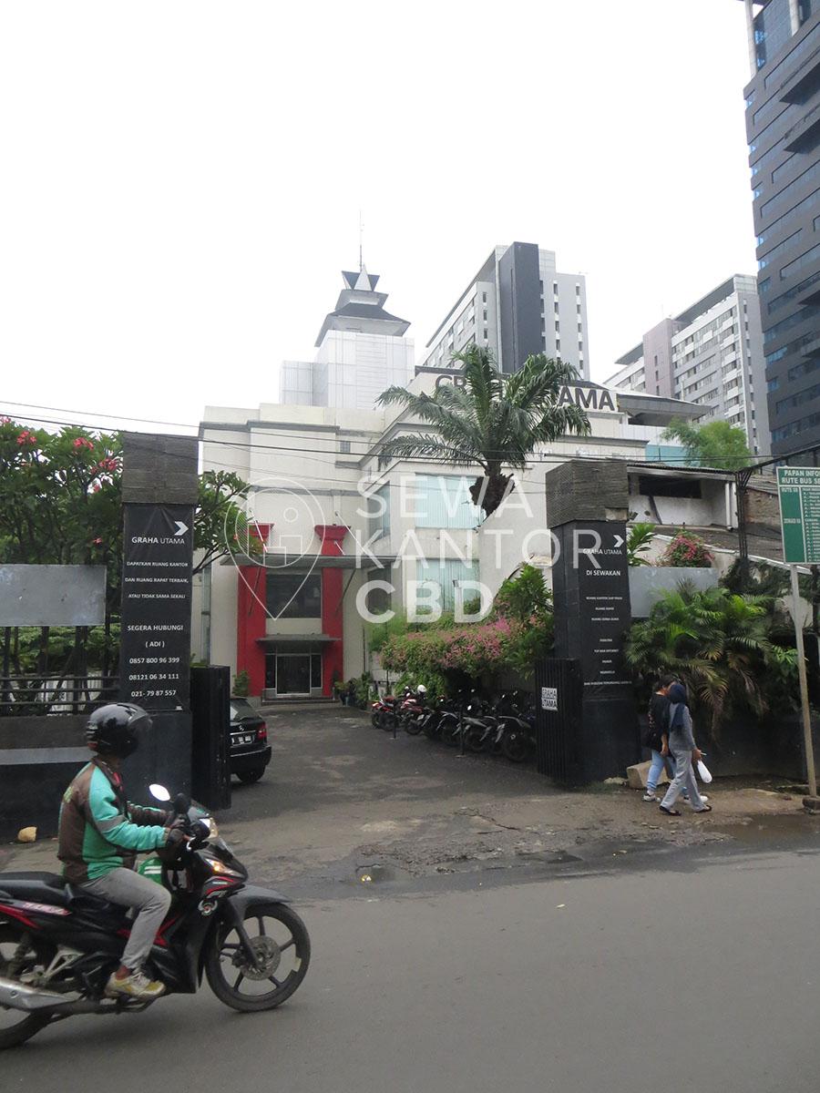 Sewa Kantor Gedung Graha Utama Jakarta Selatan Pancoran  Jakarta Exterior 2