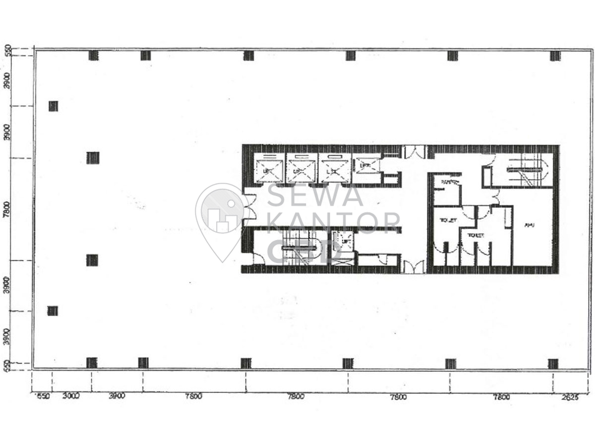Sewa Kantor Gedung Mega Plaza Jakarta Selatan Setiabudi Kuningan Jakarta Floor Plan