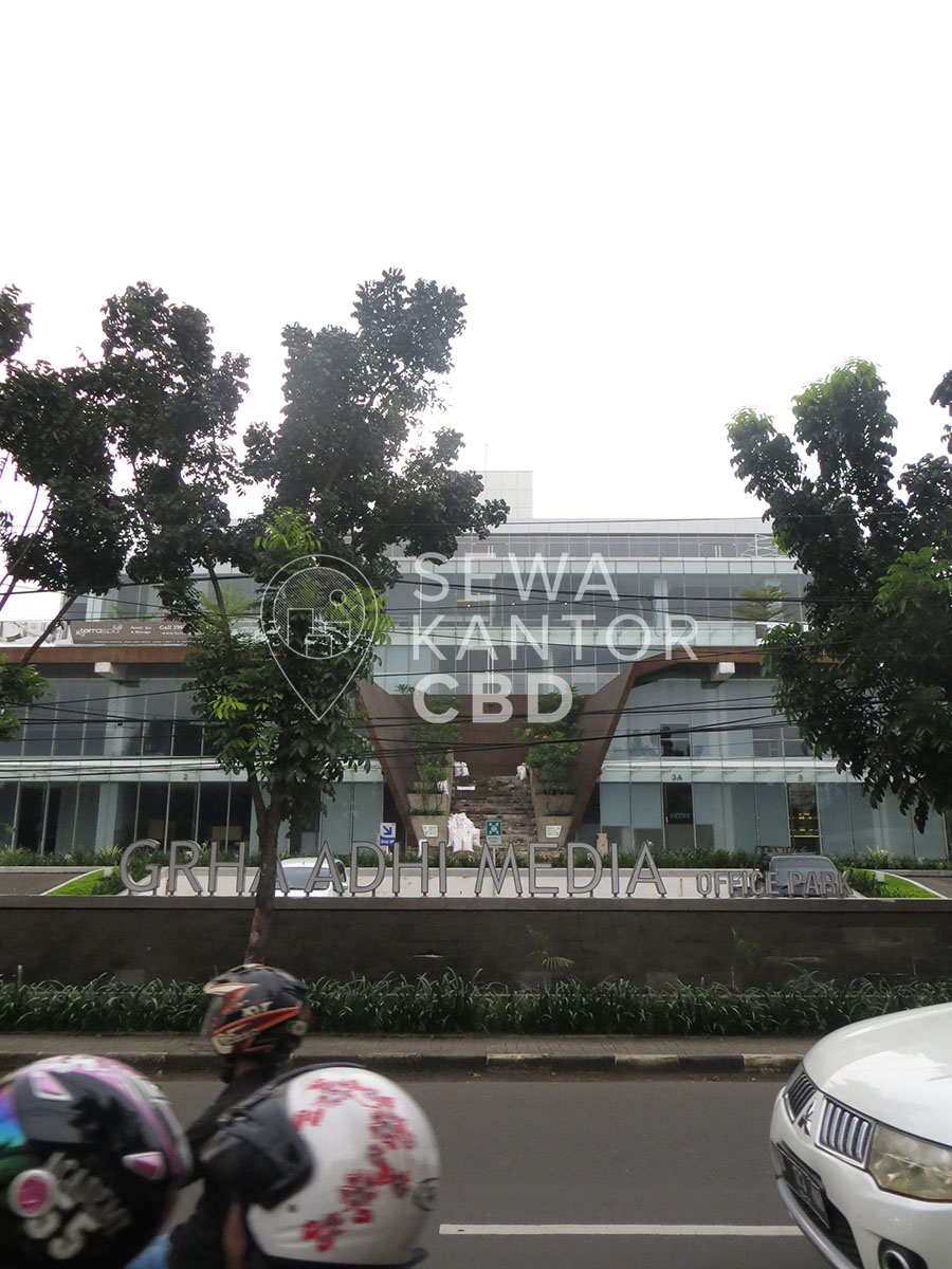 Sewa Kantor Gedung Graha Adhi Media Jakarta Selatan Pesanggrahan  Jakarta Exterior 1