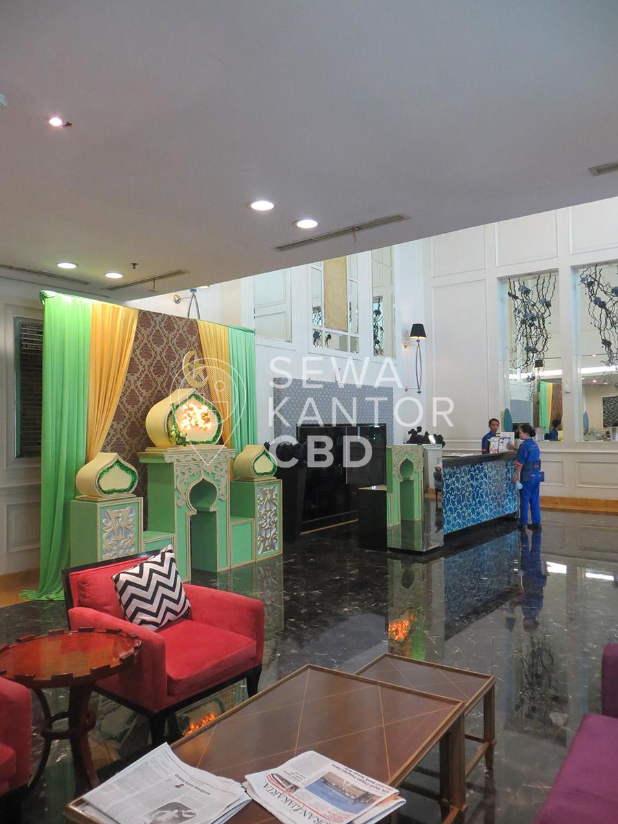 Sewa Kantor Gedung Gapura Prima Office Tower Jakarta Selatan Kebayoran Lama  Jakarta Interior 2