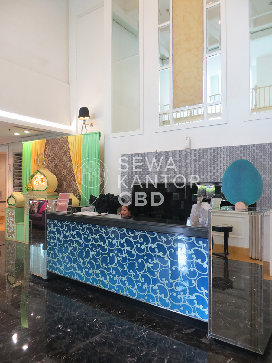 Sewa Kantor Gedung Gapura Prima Office Tower Jakarta Selatan Kebayoran Lama  Jakarta Interior