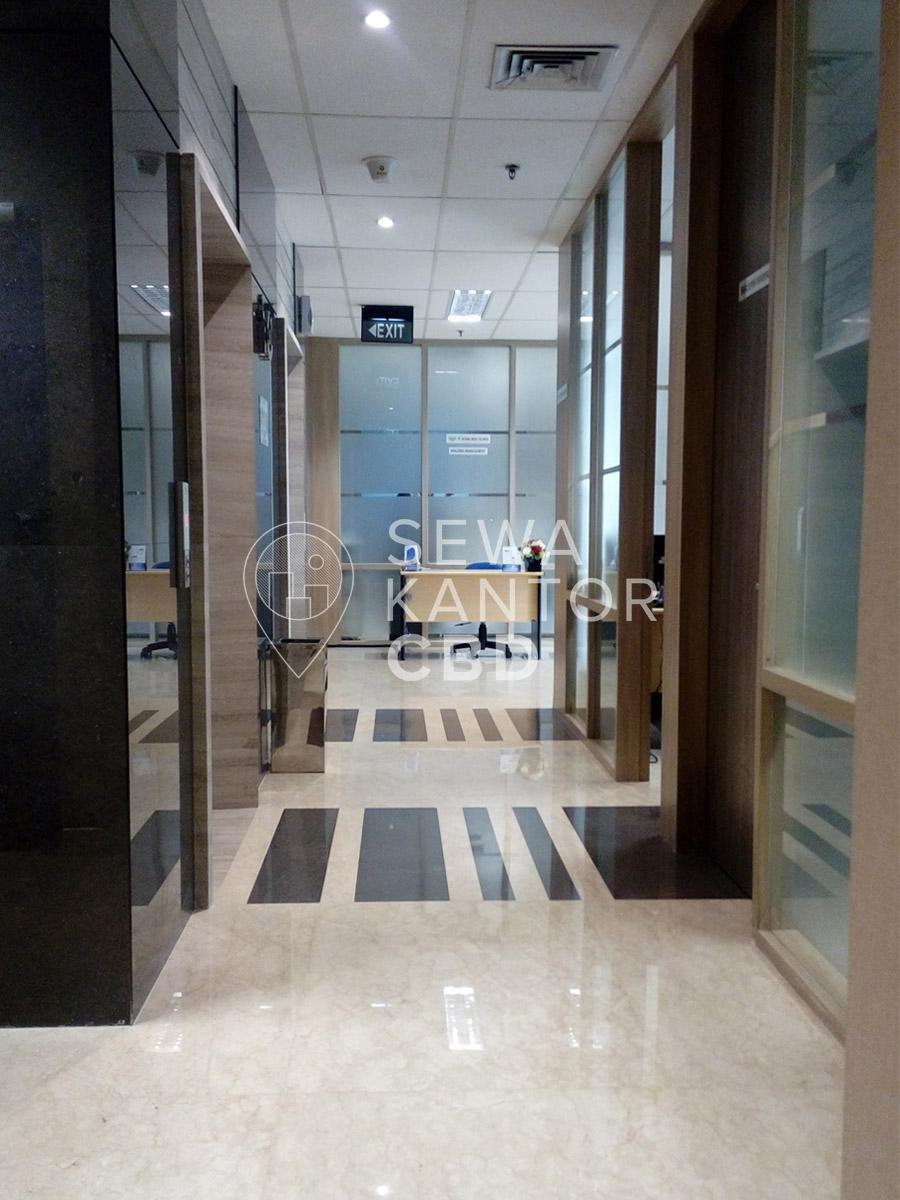 Sewa Kantor Gedung Gedung Baja Tower C Jakarta Pusat Sawah Besar  Jakarta Interior 7