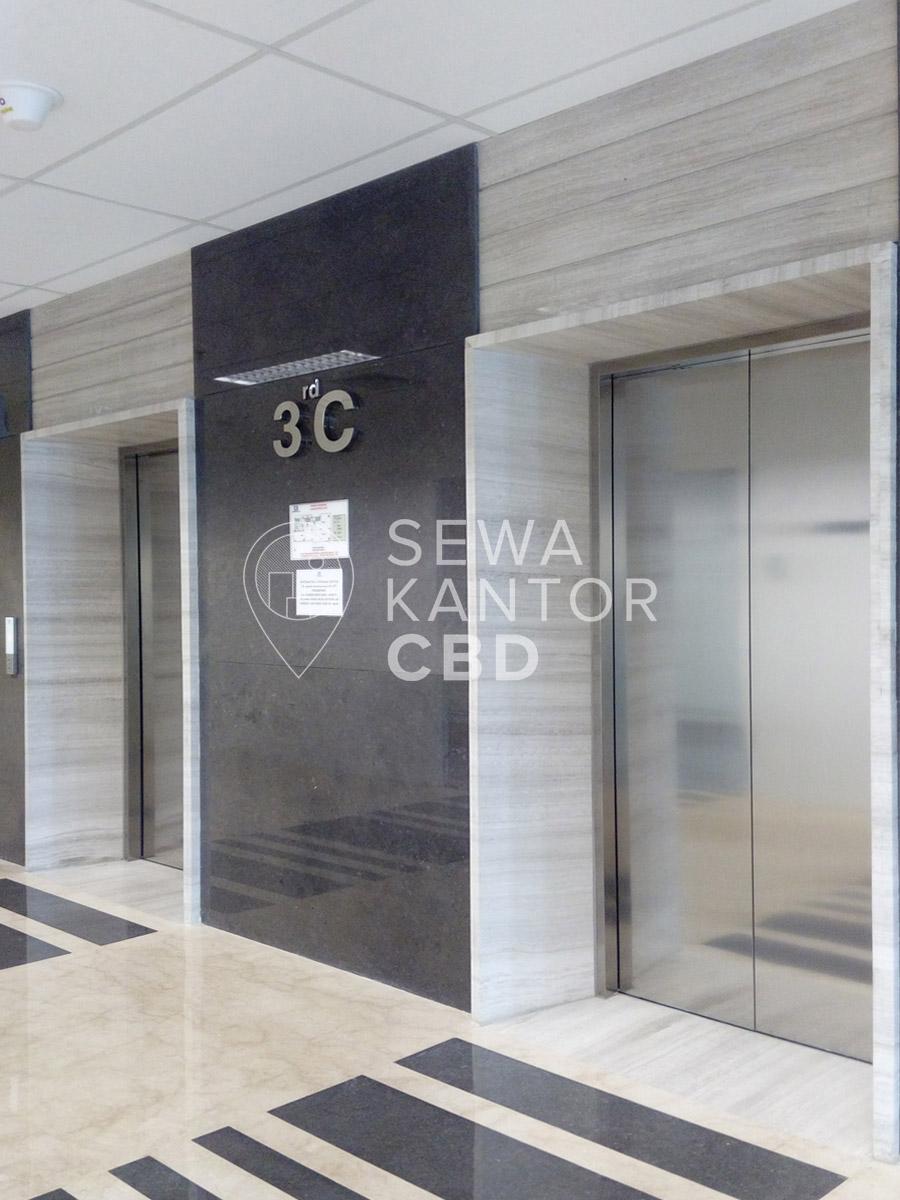 Sewa Kantor Gedung Gedung Baja Tower C Jakarta Pusat Sawah Besar  Jakarta Interior