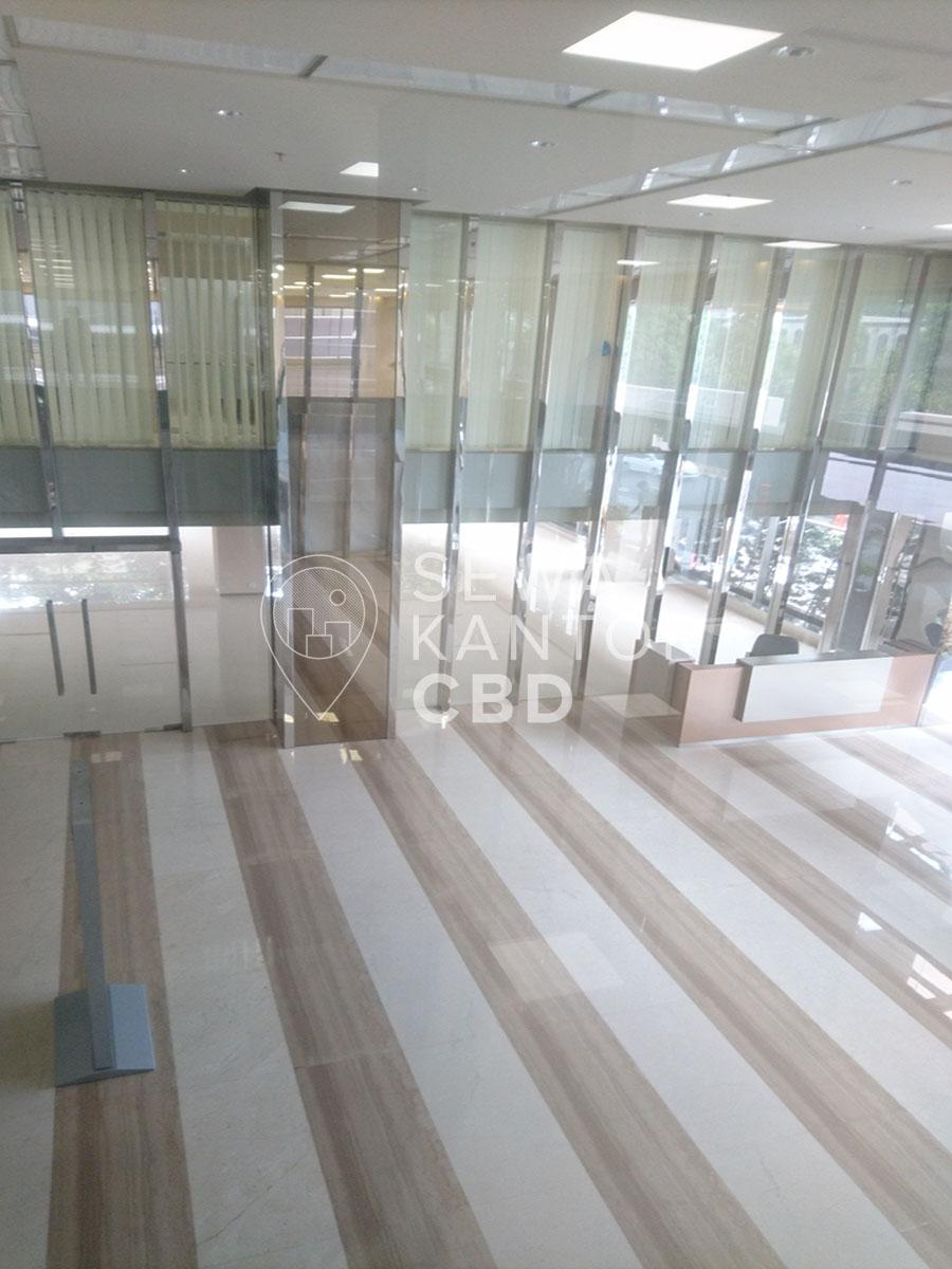 Sewa Kantor Gedung KMO Building Jakarta Selatan Kebayoran Baru  Jakarta Interior