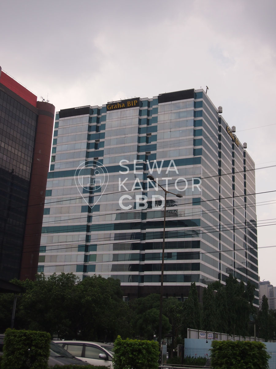 Sewa Kantor Gedung Graha BIP Jakarta Selatan Mampang Prapatan Gatot Subroto Jakarta Exterior 1