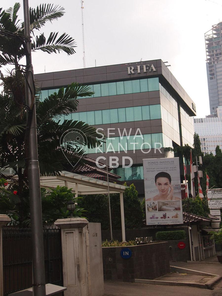 Sewa Kantor Gedung Gedung Rifa Jakarta Selatan Setiabudi Satrio Jakarta Exterior