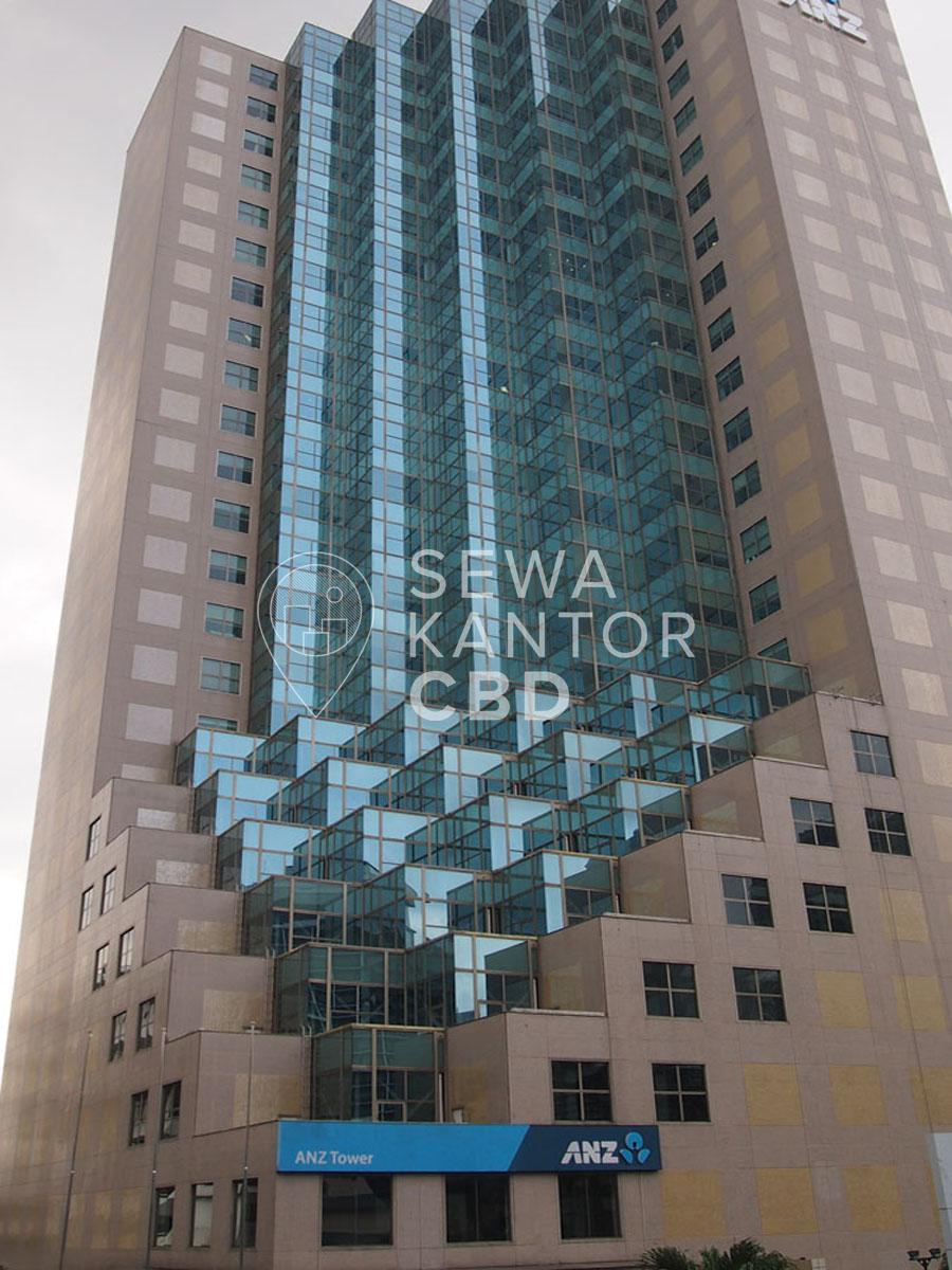 Sewa Kantor Gedung ANZ Tower Jakarta Pusat Tanah Abang Sudirman Jakarta Exterior 1