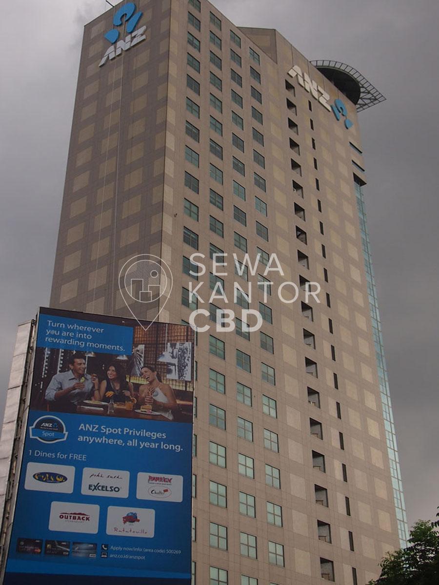 Sewa Kantor Gedung ANZ Tower Jakarta Pusat Tanah Abang Sudirman Jakarta Exterior 3