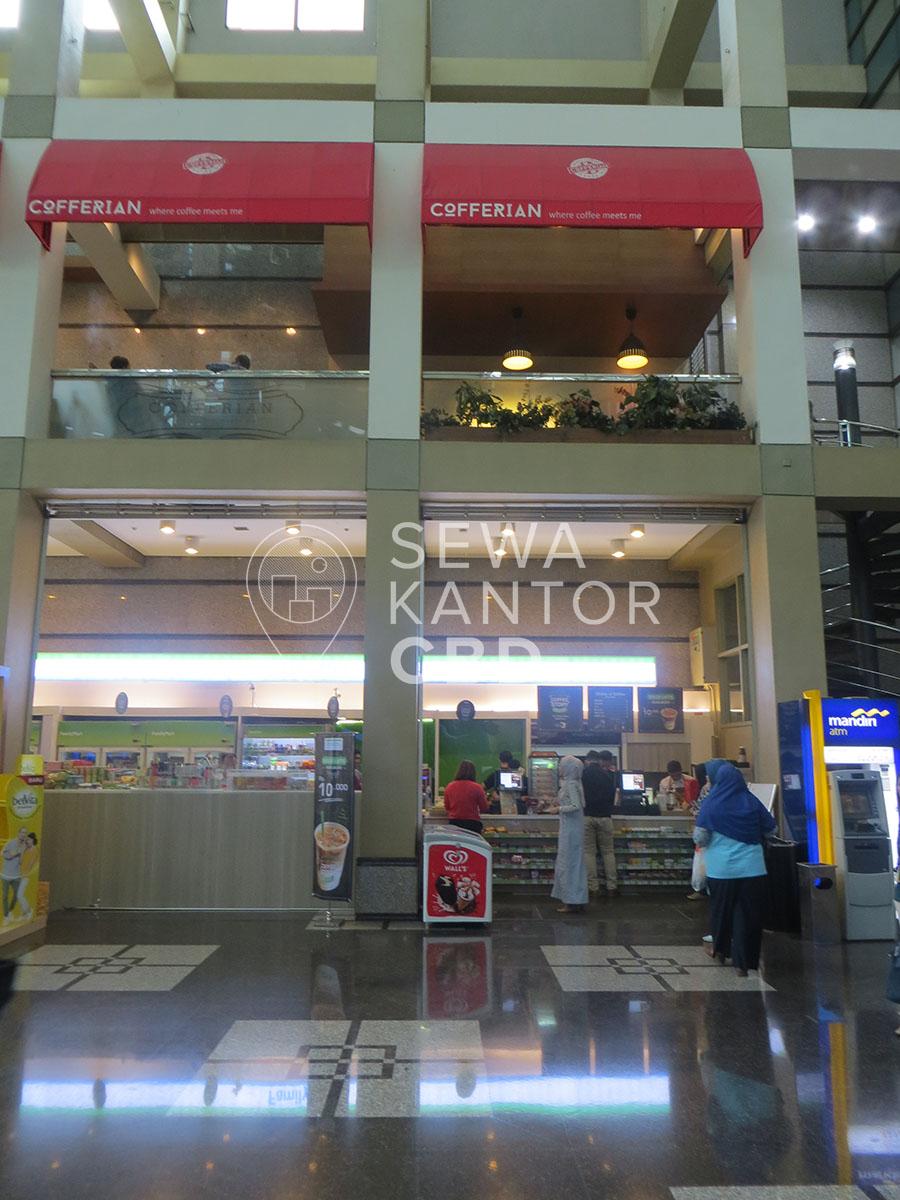 Sewa Kantor Gedung ANZ Tower Jakarta Pusat Tanah Abang Sudirman Jakarta Interior 3
