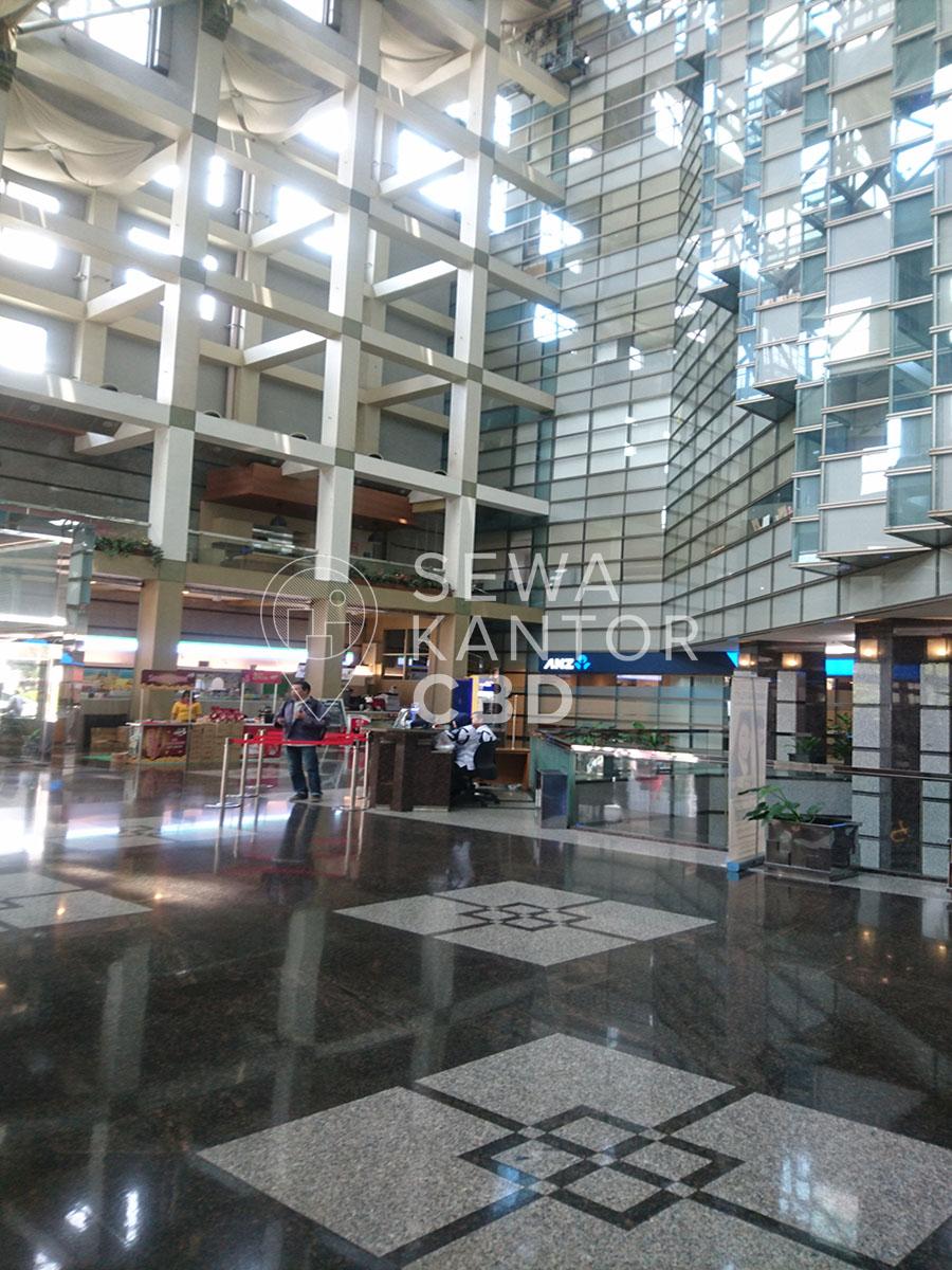 Sewa Kantor Gedung ANZ Tower Jakarta Pusat Tanah Abang Sudirman Jakarta Interior