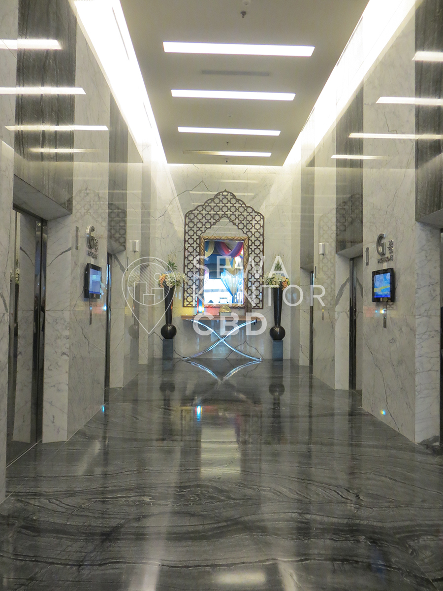 Sewa Kantor Gedung Equity Tower Jakarta Selatan Kebayoran Baru Sudirman Jakarta Interior 13