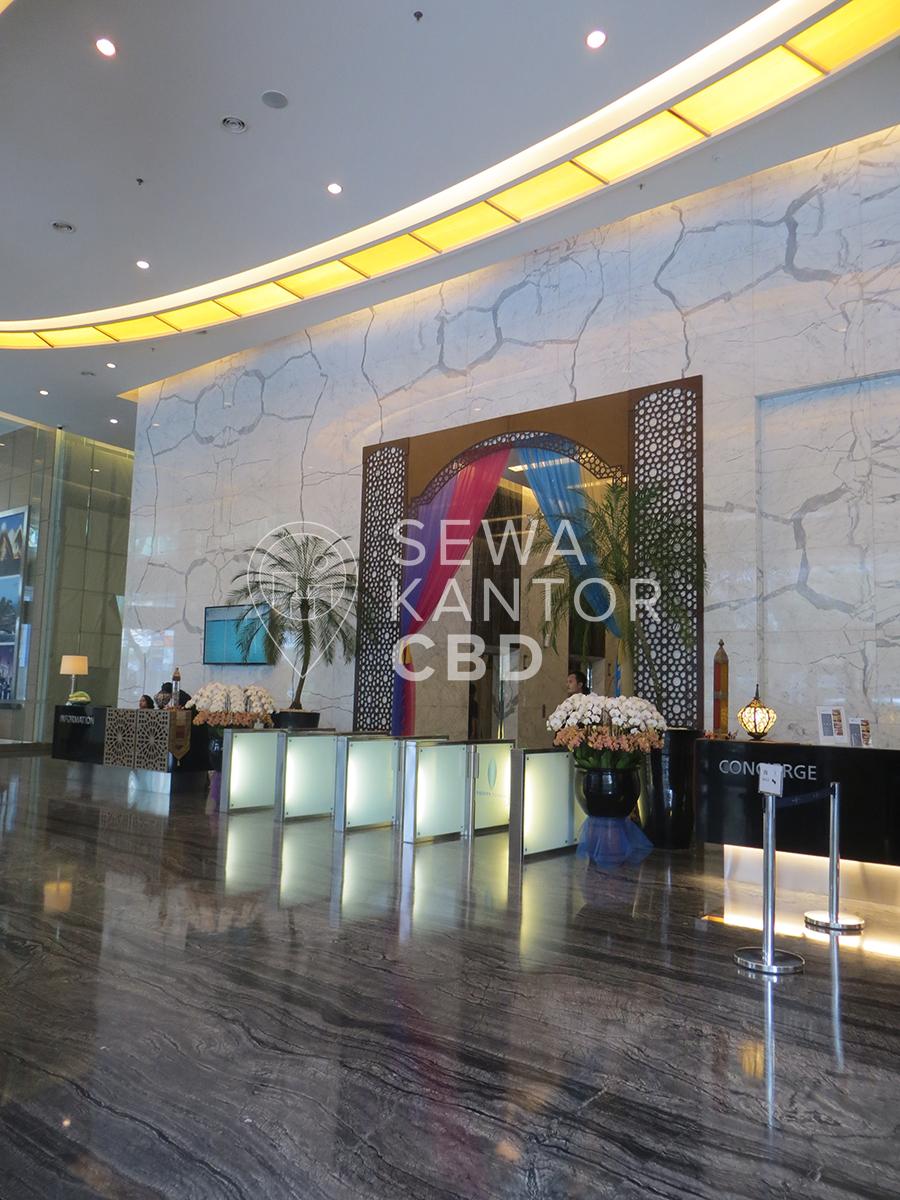 Sewa Kantor Gedung Equity Tower Jakarta Selatan Kebayoran Baru Sudirman Jakarta Interior