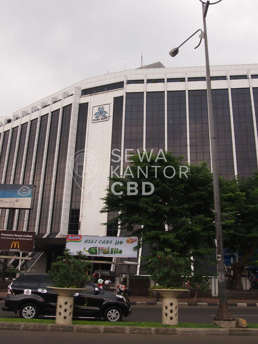 Sewa Kantor Gedung Gedung Bank Panin Pusat Jakarta Pusat Tanah Abang Sudirman Jakarta Exterior 1