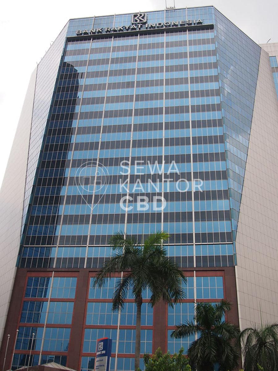Sewa Kantor Gedung Gedung BRI 1 Jakarta Pusat Tanah Abang Sudirman Jakarta Exterior