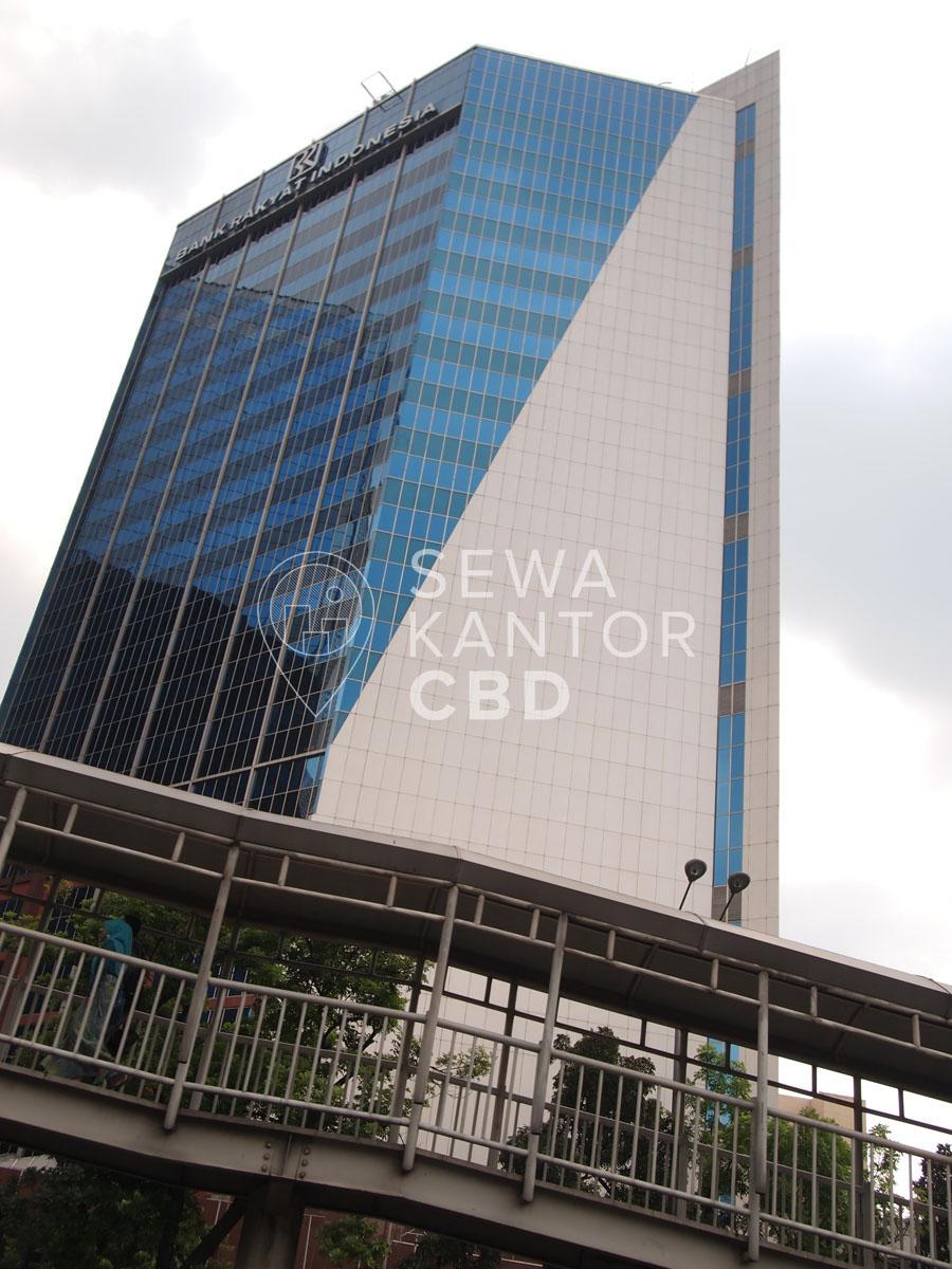 Sewa Kantor Gedung Gedung BRI 1 Jakarta Pusat Tanah Abang Sudirman Jakarta Exterior 1