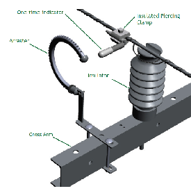 Insulated piercing clamp