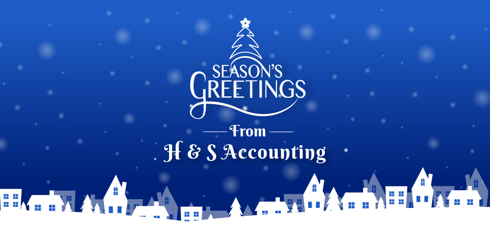 Season's Greetings from H & S Accounting