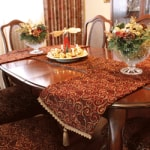 Printed Table Runner at Sensational Seams