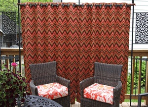 Outdoor Drapery by Sensational Seams